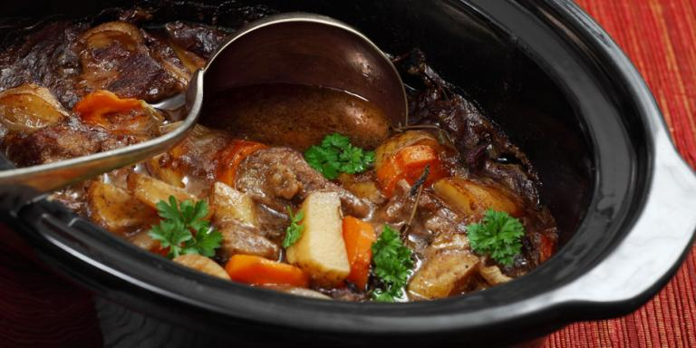 Slow cooker stew